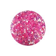Glitter-hologrammid, roosa